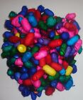 COLOURFUL SILK COCOONS FIBRE ART JEWELLERY