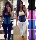 body paets - Women Body Shaper Latex Rubber Waist Trainer Cincher Underbust Corset Shapewear