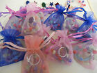 Pretty Organza Bag with 2 Bead Bracelets & 1 Pretty Ring Perfect Girls Party Bag