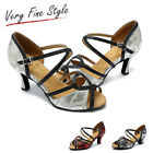 Women's Salsa Ballroom Tango Dance Shoes Style L215