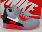 Nike Air Max 90 Sneakerboot Ice Grey Infrared Boots Casual Shoes 684722-006