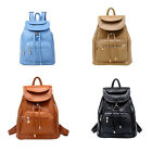 Vintage Women's Backpack Travel PU Leather Handbag Rucksack Shoulder School BagL