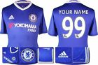 *16 / 17 - ADIDAS ; CHELSEA HOME SHIRT SS / PERSONALISED = SIZE*