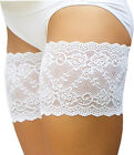 Genuine Bandelettes® White Onyx Anti-Chafing Lace Thigh Bands 21