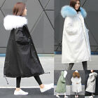 High-Quality Women's Winter 90% Duck Down Coat Real Fur Collar Hooded Warm Coat