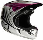 Fox Racing V4 LE Vegas MX Helmet Black/Purple