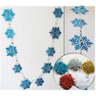 2M/10pcs Frozen Snowflake Curtain Christmas Wedding Scene New Year Decoration