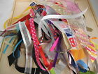 Bundle/Bag 50 Short Offcuts Asstd Ribbon Pieces Perfect for projects/stash/craft