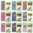 Fr iPhone Sony Huawei Lenovo Asus Stand Function Love Heart Ring Soft Cover Case