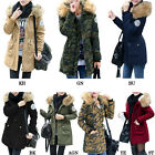 2016 New Women's Ladies Fur Hooded Coat Fashion Long Thicken Jacket Plus Size