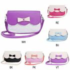 Hot Sale Women's Fashion PU Leather Messenger Bag Crossbody Bag - Bowknot