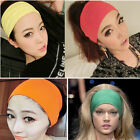 Women Stretch Solid Headband Cotton Fashion Sport Yoga HeadWrap Bandana Headwear