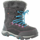 Girls Junior Hi-Tec ST Moritz 200 Waterproof Warm Walking Boot Sizes 2 to 5