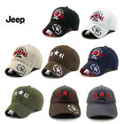 Jeep Hat Women Men baseball Golf Ball Sport Outdoor Casual Sun Cap Adjustable