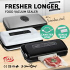 Vacuum Food Sealer Saver FREE Rolls Bags Heat Preservation Machine Storage NEW