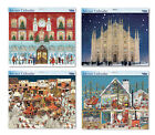 Huge Grand Advent Calendars 442 x 362 mm with glitter varnish and white envelope