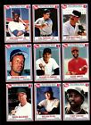 1990 POST CEREAL BASEBALL STAR LOT OF 154 CARDS W/ DUPLICATES MINT *50515