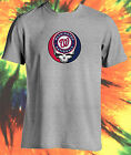 MLB GRATEFUL DEAD JERRY GARCIA STEAL YOUR FACE WASHINGTON NATIONALS T-SHIRT on Ebay