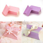 50 Pillow favor Box Anti-Scratch Boxes Wedding Party Ideal Gift Boxes Hot Using