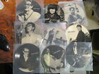 VARIOUS 50s ROCK N ROLL lot of 9 45 NCB picture discs VG++ cardboard type