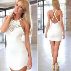 Sexy Women Lady Sleeveless Evening Party Cocktail Casual Mini Short Dress S E0Xc