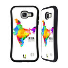 HEAD CASE DESIGNS WATERCOLOURED MAPS HYBRID CASE FOR SAMSUNG GALAXY A5 (2016)