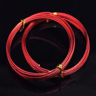 1.0/1.5/2.0mm Aluminum Jewelry Making Wrap Craft Wire 5Meter Colorful