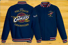 Cleveland Cavaliers NBA 2016 Final Champions Jacket Polyester Navy Blue NEW