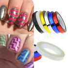 Rolls Striping Tape Line DIY Nail Art Tips Decoration Sticker 6 Colors New