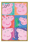 Peppa Pig Characters Magnetic Notice Board Includes Magnets