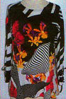 Valentina Top Multi Colored Ribbon Style 10420 Polly NWT  Size Small