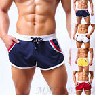 Stylish Men Sport Bodybuilding Shorts Fitness Running GYM Casual Short Pants hot