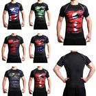 New Avengers 3D Superhero Compression T-shirts Cycling Fitness Bicycle Gym Shirt