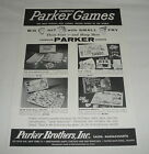 1959 toy trade ad page~ Parker Bros HAVE GUN WILL TRAVEL, DISNEY SLEEPING BEAUTY