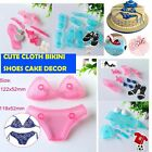 Bikini Sport Trophy Shirt Cute Fondant Cake Cookies Cutter Mold DIY Baking Tool