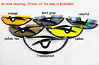 UV400 protection bicycle riding cycling shooting glasses 6 colors with box!