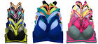GIFT Pack Lot 1 6 Wired Light Padded Raceback Spandex Cotton Sports BRA B/C/D