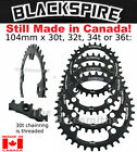 Внешний вид - BLACKSPIRE 104 x 30-36t Narrow Wide 9 10 11 12 Spd Bike Chain Ring fit Race Face