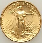 1986 Quarter-Ounce Gold American Eagle Modern Bullion Coin Raw Gold G$10