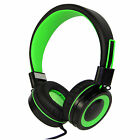 RockPapa Foldable Headphones Headset Folding for SmartPhones iPhone iPod MP3 DVD