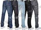 BNWT NEW MENS JEANS BY CROSSHATCH BLUE DESIGNER BRANDED STRAIGHT SMALL TO KING