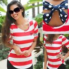 Women Summer Loose Casual Cotton Sexy Vest Tee Shirt Tops Blouse Ladies T TXWD