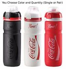 Elite Coca-Cola Supercorsa 750ml Water Bottle Black Red White w/Cap Cover Coke $15.61  on eBay