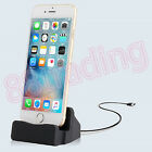 Desktop Charger Dock Sync Charge Stand Cradle with Cable for Phone and Tablet