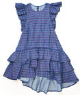 Paper Wings Lace Trim Smock-Kisses and Hugs Dress NWT