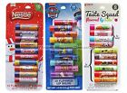 TASTE BEAUTY*^ 10pc Lip Balm Set HOLIDAY/CHRISTMAS Party Pack NEW! *YOU CHOOSE