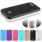 LED Light Selfie Illuminated External Battery Charger Case For iPhone 5s 6 6s 7