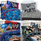 nEw WWE WRESTLING BED SHEETS SET - Cena Champions Bedding Sheets Pillowcase