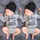Newborn Toddlers Baby Boy Girls Cotton Rompers Jumpsuit Bodysuit Clothes Outfits