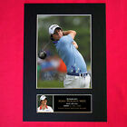 RORY MCILROY Mounted Signed Photo Reproduction Autograph Print A4 269